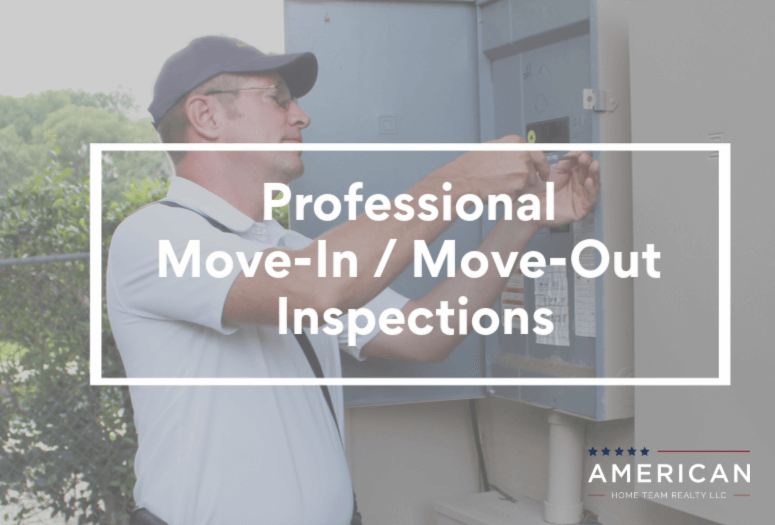 Professional Move-in/Move Out inspections