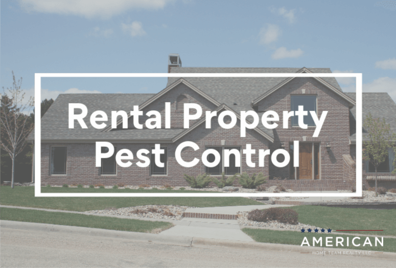 Rental property pest control