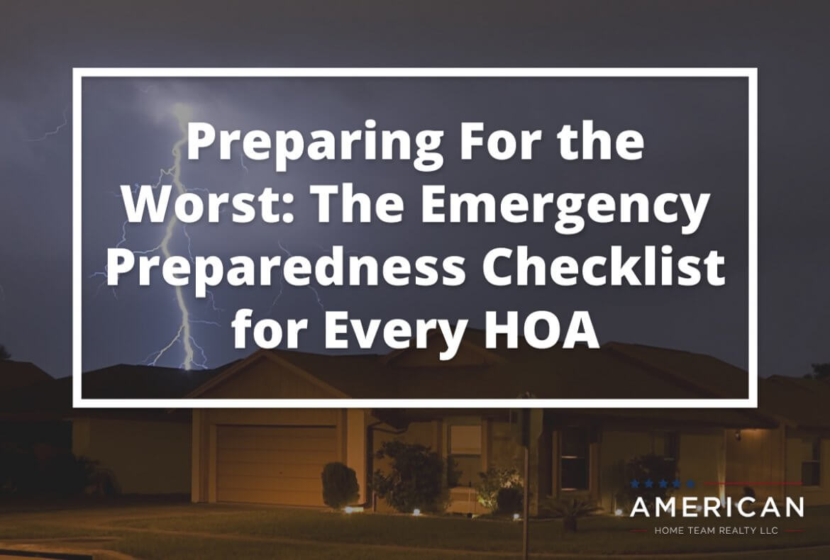 Central Florida Home during a storm - Preparing for the worst - emergency checklist